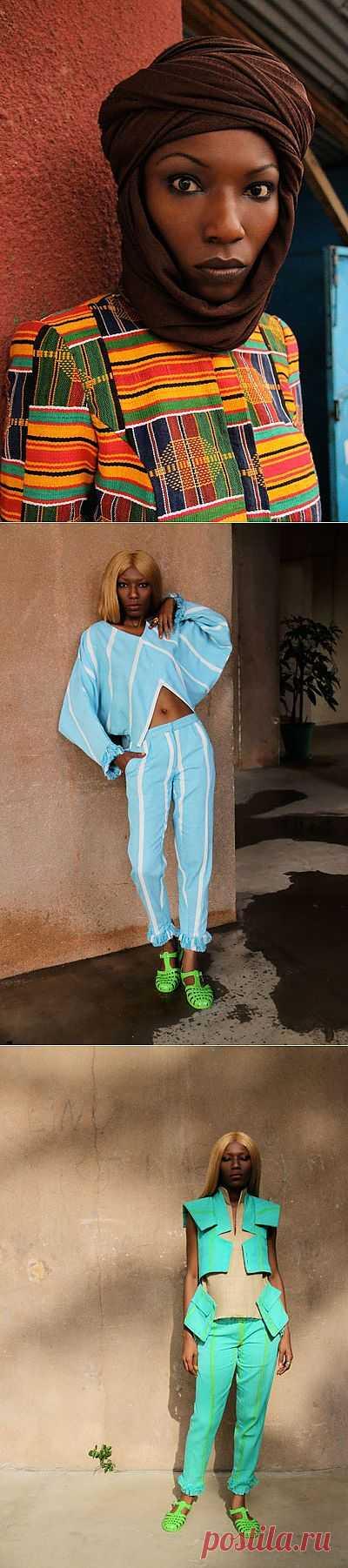 Африка в моде ( трафик) / Дизайнеры / Модный сайт о стильной переделке одежды и интерьера