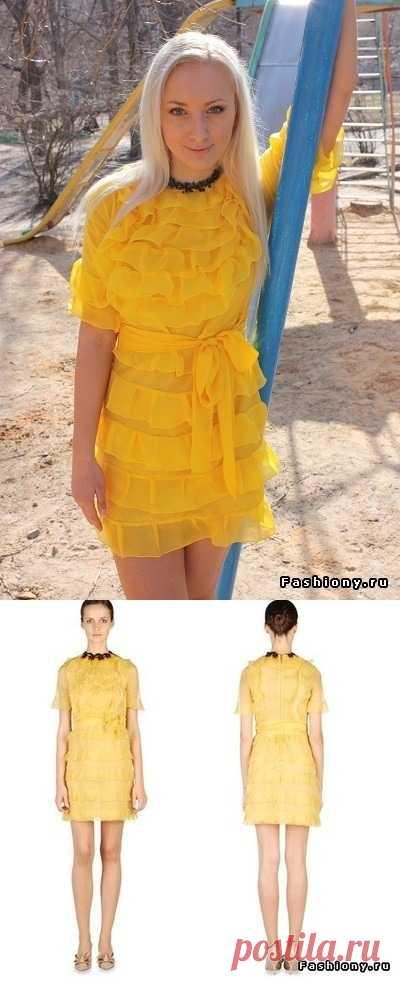Платье Valentino своими руками