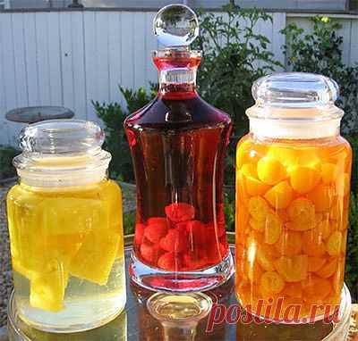 Как сделать ароматизированную водку? | Женская Планета