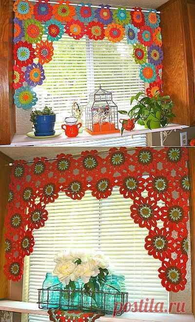 Веселые летние шторы .