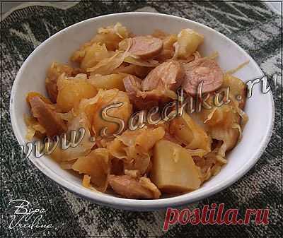 Солянка сборная   рецепты на Saechka.Ru
