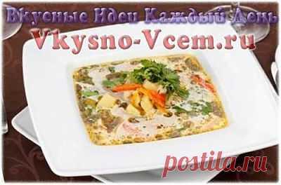 Суп из кабачков в горшочке. Узбекская пословица говорит: «Хороший суп — из хорошего мяса». А мы дополним — а также из грибов и кабачков! Если вы ищите диетические блюда, то суп из кабачков — ваш выбор. Мягкий нежный вкус, тонкий аромат, минимум калорий — все, что доктор прописал!