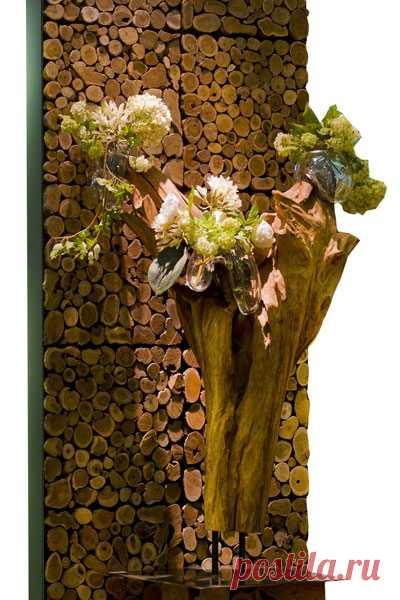 Дерево в интерьере / Декор стен / ВТОРАЯ УЛИЦА