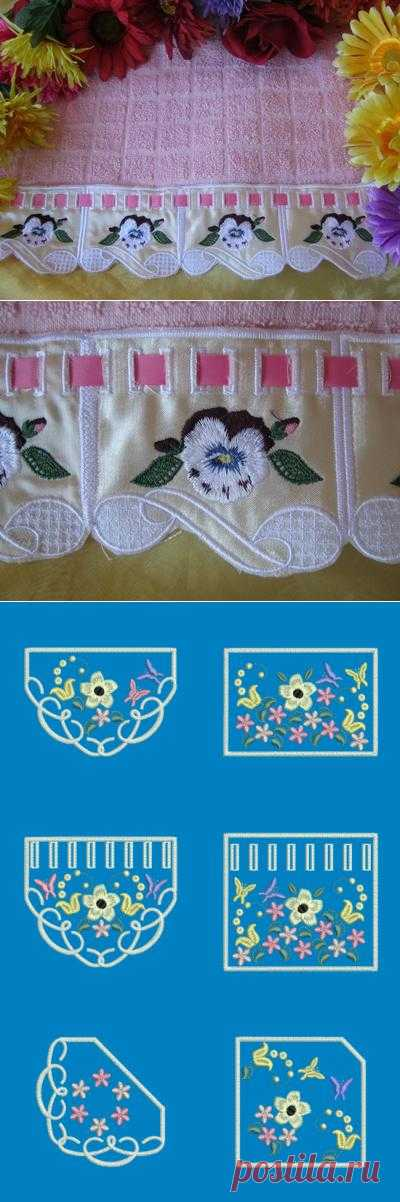 Fabric And FSL Edgings Combo