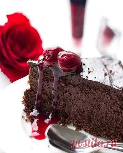 Торт на день св. Валентина.