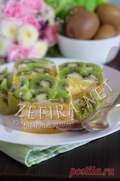 La torta de bizcocho con la calabaza y la crema de maskarpone – las Recetas de cocina de la mujer que quiere