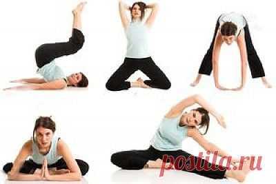 Калланетик - упражнения. Комплекс упражнений в картинках.