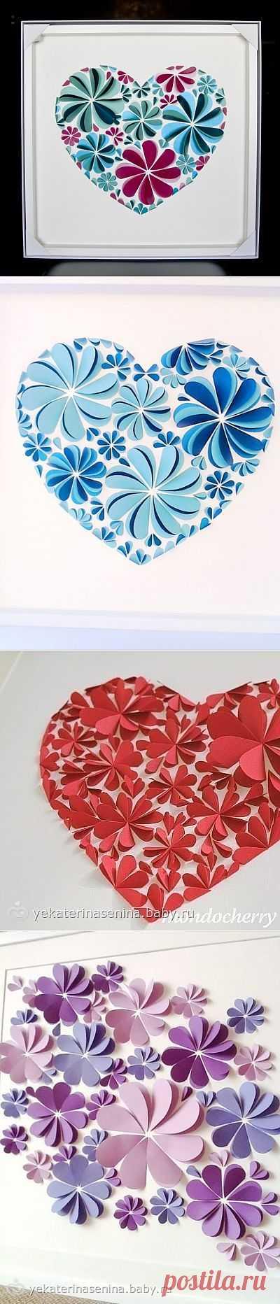 Бумажный декор стены (подборка) / Бумага и карандаши (скрапбукинг, оригами, и т.д.) / ВТОРАЯ УЛИЦА