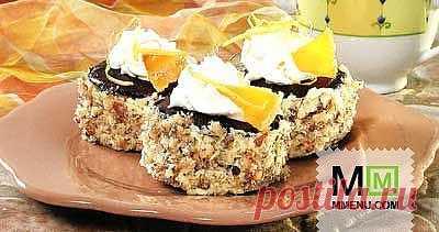 Ореховые тортики - кулинарный рецепт. Миллион Меню