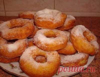 Как приготовить вкусные пончики - рецепт, ингредиенты и фотографии
