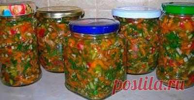 1001sovetov: Как приготовить самую вкусную заправку для супа на зиму