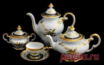 Магазин красивой посуды - Чайный сервиз Анна Амалия 820 6пeрc21прм