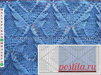 мастерская милабра 1 схемы вязания спицами вязание спицами