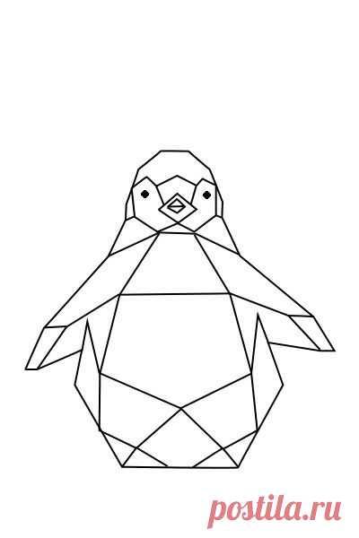 28571bf51de48c9e9a677c127fdd297e Penguin Geometric