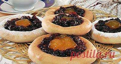 Пирог с вареньем на кефире  кулинарный рецепт