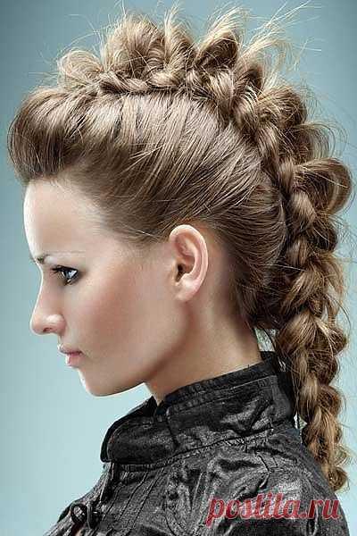Креативная коса / Прически / Модный сайт о стильной переделке одежды и интерьера