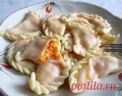 Вареники с тыквой: рецепты, как приготовить сладкими, с луком, ленивые вареники (+отзывы)