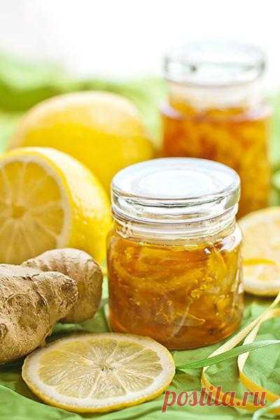 Лимонно-имбирный конфитюр.