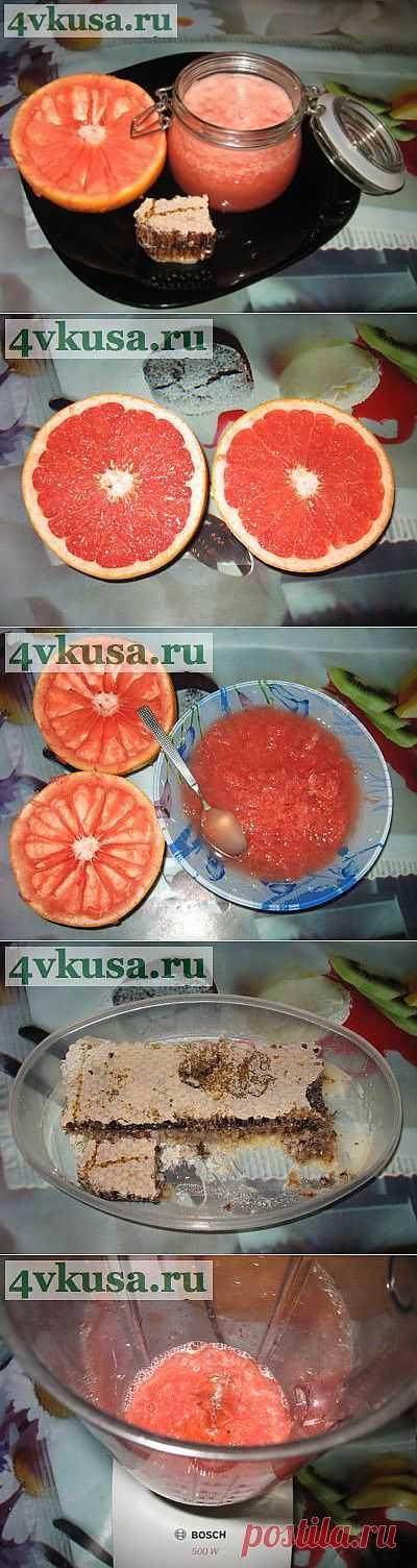 Грейпфрутовый эликсир красоты и здоровья. Фоторецепт. | 4vkusa.ru