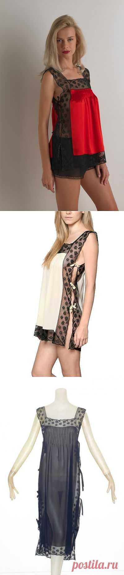 Комбинация от LORETTA CAPONI / Белье / Модный сайт о стильной переделке одежды и интерьера