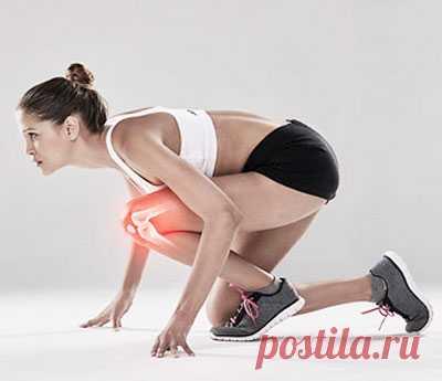Здоровые суставы - витамины и упражнения