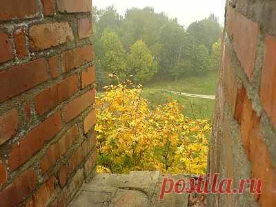 Smolensk Бойница в крепостной стене
