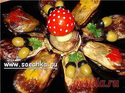 """Овощная закуска """"Осень""""   Saechka.Ru - рецепты с фото"""