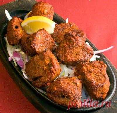 Боти Кебаб. Вкусное мясо с добавлением имбиря просто изумительно!