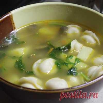 Суп из шампиньонов - вкусное первое во время поста