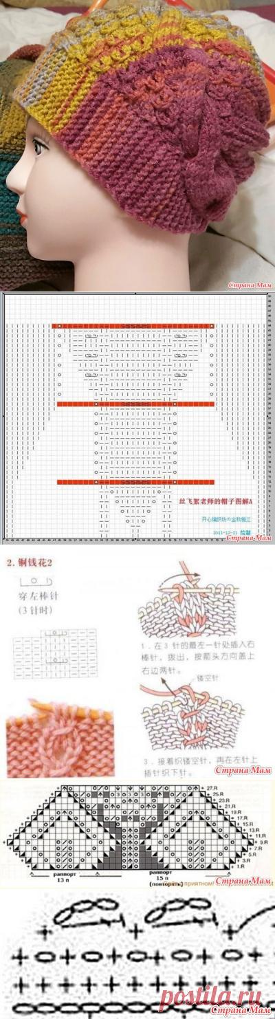 Китайская шапочка - Вязание - Страна Мам