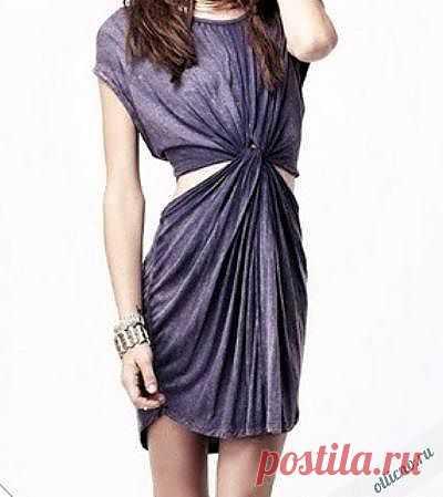 Платье из футболки | Отлично! Школа моды, декора и актуального рукоделия