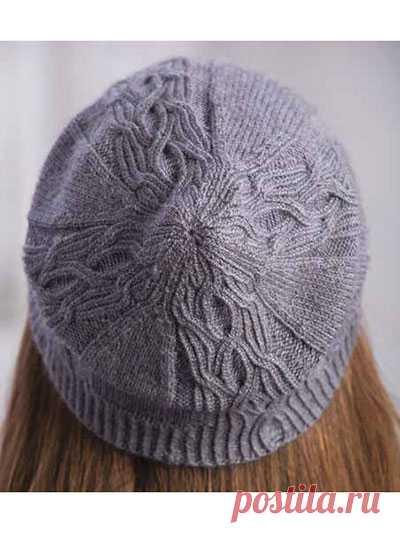 Вязаная шапка «Меркадо»