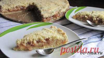 Закрытый яблочный пирог | 4vkusa.ru