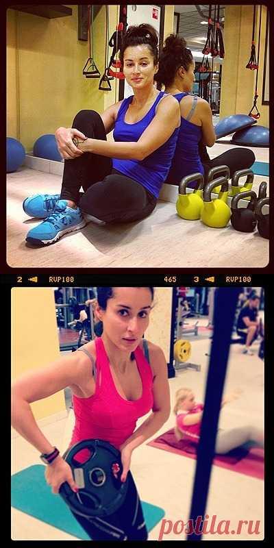 Фитнес-упражнения от Тины Канделаки: избавляемся от лишних килограммов