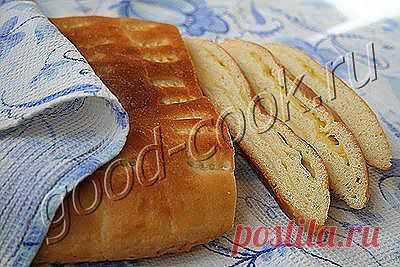 Хорошая кухня - слоеный сырный хлеб. Кулинарная книга рецептов. Салаты, выпечка.