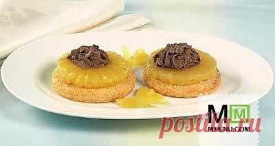 Ананасовые пирожные - кулинарный рецепт. Миллион Меню
