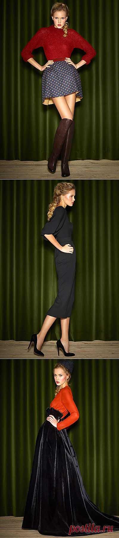 Лукбук Ульяна Сергиенко 2012-2013 / Лукбуки / Модный сайт о стильной переделке одежды и интерьера