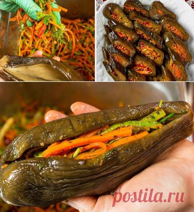 Старый добрый рецепт маринованных баклажанов, о котором многие забыли… — Вкусно!