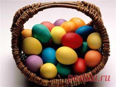 Красим яйца на Пасху!.