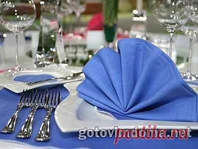 Этикет последовательности подачи блюд на стол