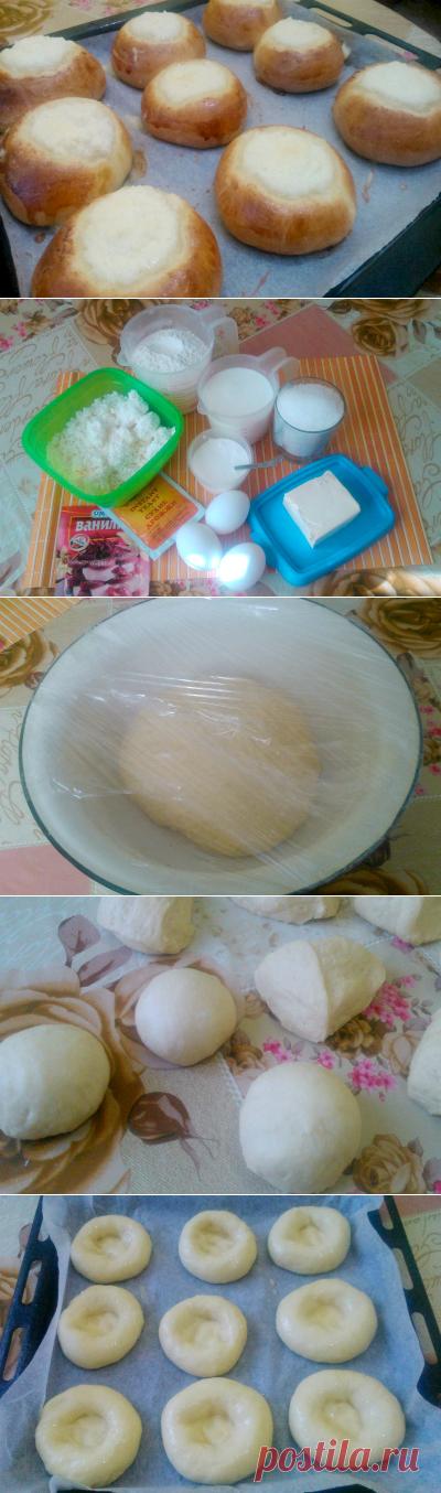 Как сделать ватрушка с творогом