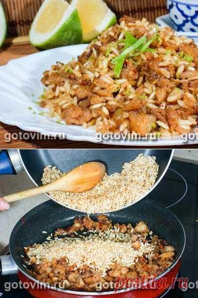 Тайская кухня: Острый рис с рыбой