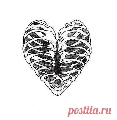 Сердце на футболку / Рисунки и надписи / Модный сайт о стильной переделке одежды и интерьера