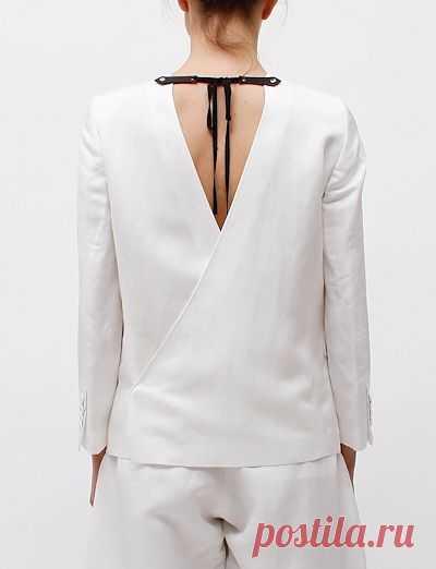 Спинка жакета / Жакеты / Модный сайт о стильной переделке одежды и интерьера