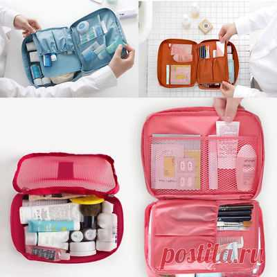 Multifunction Makeup Case Organizer Bag Women Travel Cosmetic Bag Pouch Toiletry | eBay