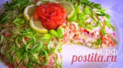 Рецепт праздничного слоеного салата » Королевская шуба « » Рецепты вкусных салатов