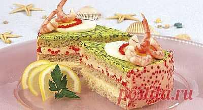 Закусочный(бутербродный)торт