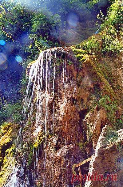 Мужские слёзы. Водопад в Абхазии