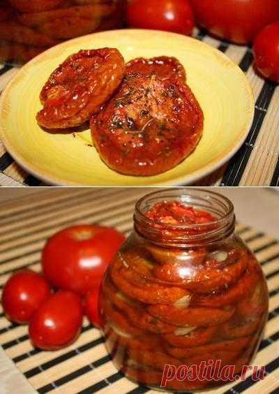 Пошаговый фото-рецепт вяленых помидоров   Консервирование и заготовки   Вкусный блог - рецепты под настроение
