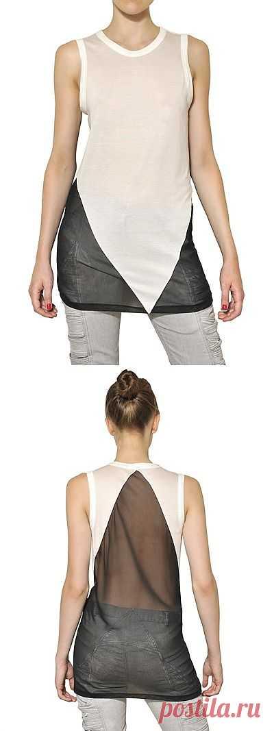 Черное и белое / Футболки DIY / Модный сайт о стильной переделке одежды и интерьера